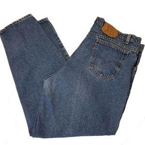 Levis 560 42x32 Loose Comfort Fit Blue Jeans